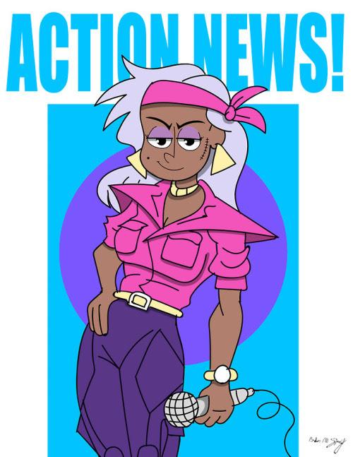 I think Dynamite Watkins is my new favorite Ok-Ko character.
