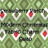 Modern Christmas Fabric Swap 2011