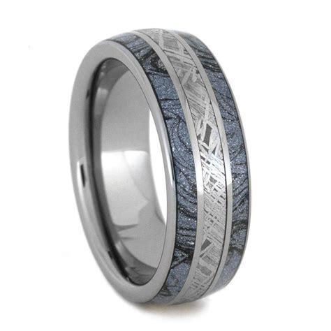 Meteorite Rings, Meteorite Wedding Bands   Jewelry by Johan