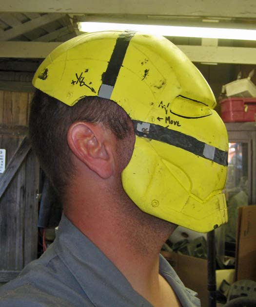 Helmet Stretching 8