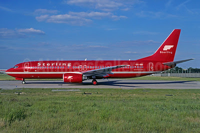 Sterling European Airlines (2nd) Boeing 737-85H OY-SEI (msn 29445) ORY (Jacques Guillem). Image: 912689.