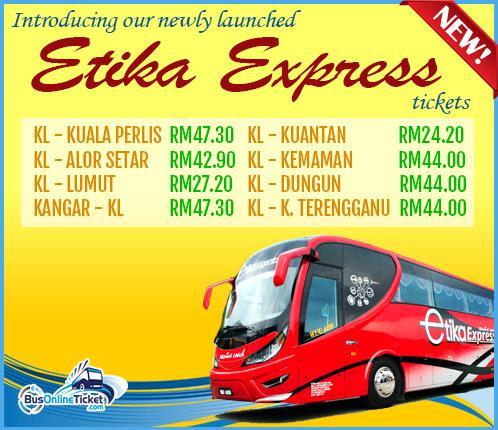 Etika Express Coach Tickets at BusOnlineTicket.com