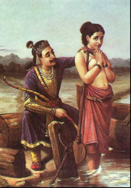 418px-Ravi_Varma-Shantanu_and_Satyavati