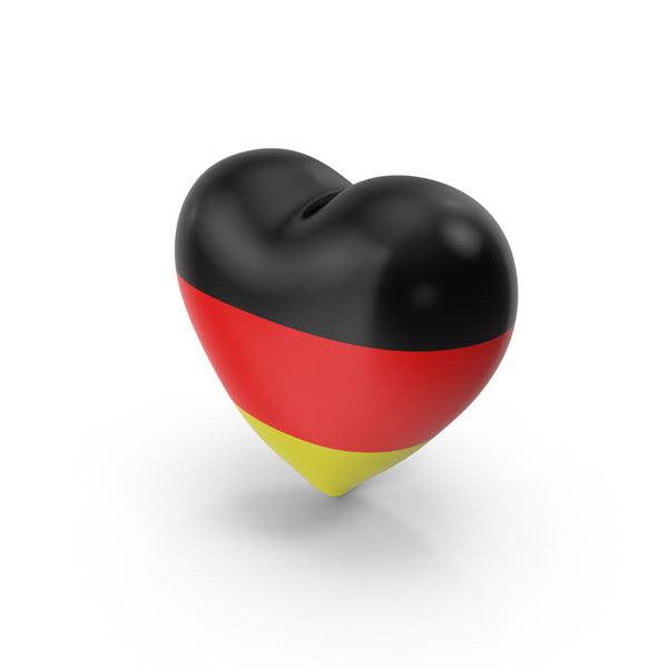 Germany Flag Heart Png Images Psds For Download Pixelsquid S111232408