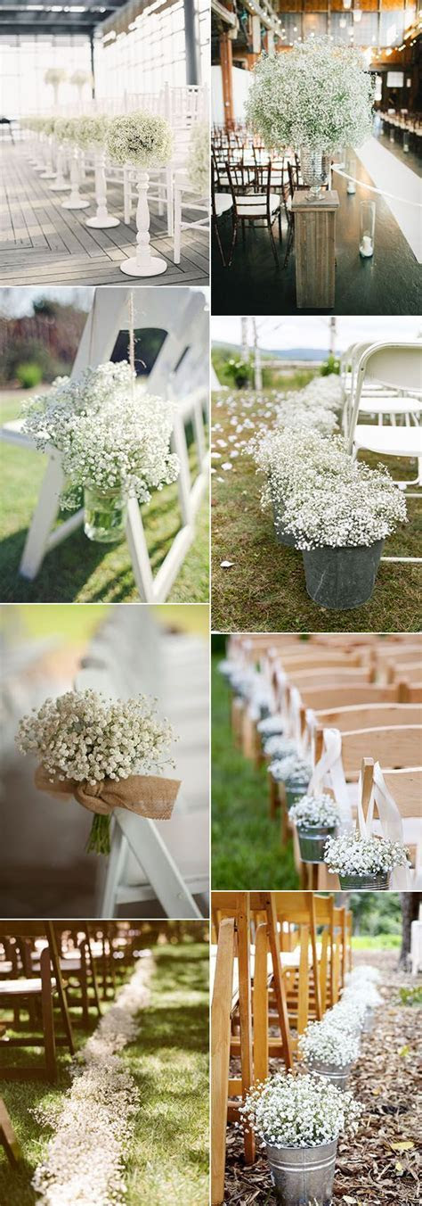 Wedding Flowers: 40 Ideas to Use Baby?s Breath   BABIES