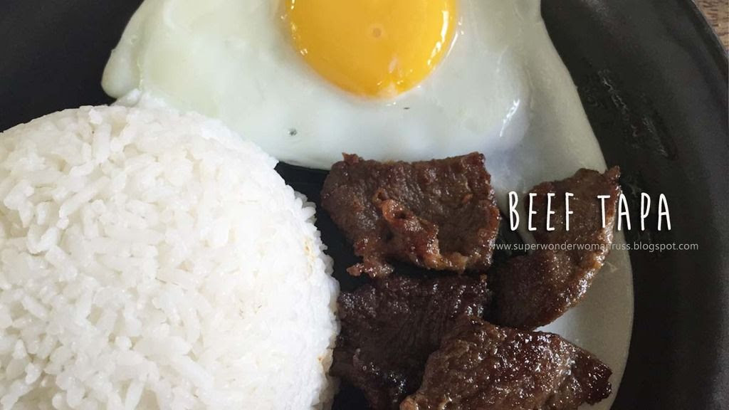 All-Day Breakfast Beef Tapa
