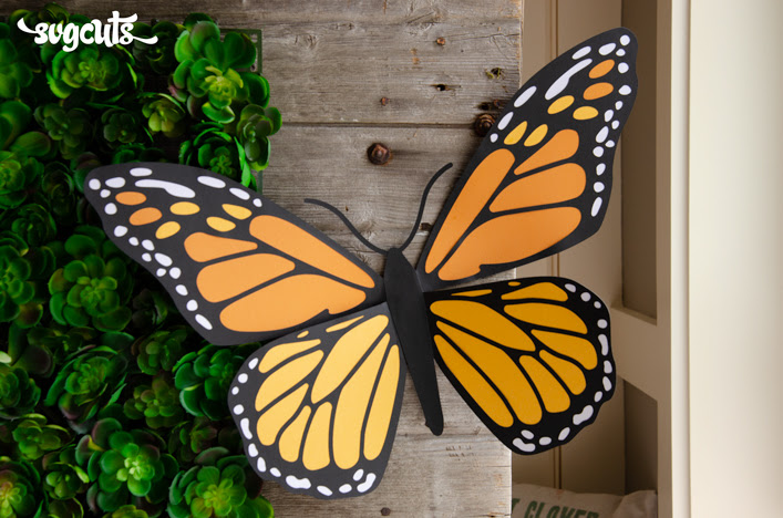 New from SVGCuts Mega Butterfly!