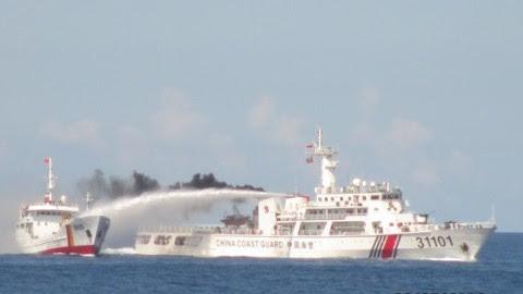 biển Đông, giàn khoan HD 981, Trung Quốc, Việt Nam, Luật Biển