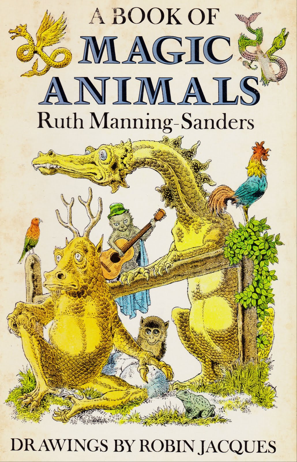 "Robin Jacques - Cover Art For Ruth Manning-Sanders' ""A Book of Magic Animals,"""
