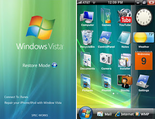 iphone runs windows vista
