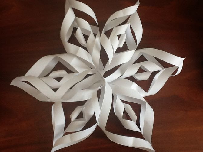 Image result for paper snowflakes