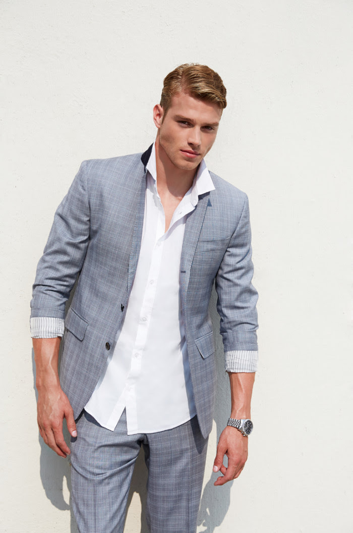 simple smartcasual mens suits collection 2015