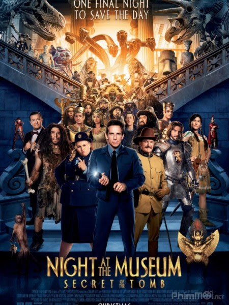 Đêm ở viện bảo tàng 3: Bí mật hầm mộ - Night at the Museum: Secret of the Tomb