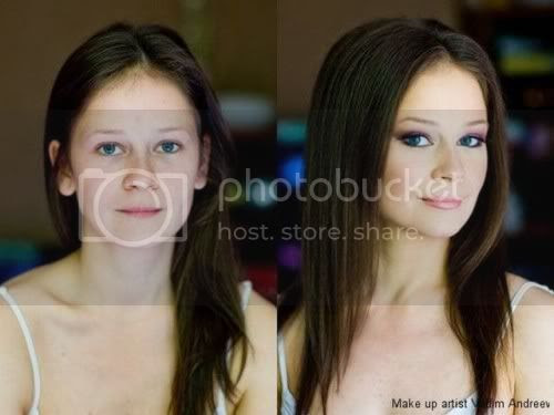 15 Amazing Power of Make-up Photos: