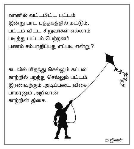 பாடம் பட்டம் / Lesson kite