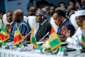 Buhari Participates At Joint ECOWAS-ECCAS Heads Of State & Govt Summit In Togo (Pix)