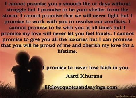 A Promise Quotes For Him