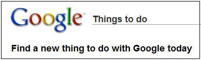 ThingsToDoWithGoogle