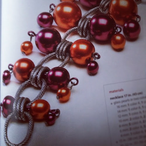Design by Jane Konkel from the book Stylish Jewelry Your Way.