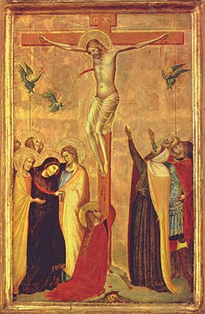 Christ crucified.