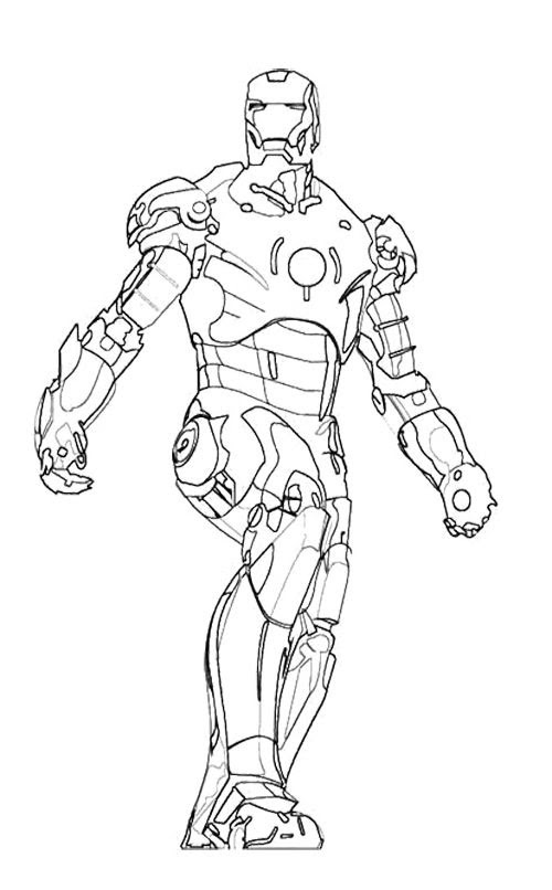 Hulkbuster Coloring Pages Coloring Pages