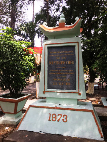Thăm ngôi chùa cổ, nơi in dấu ấn của cụ Đồ Chiểu