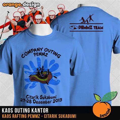 desain kaos family gathering  acara outing