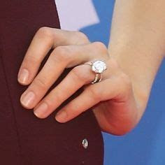 My dream ring. Blake Lively's ring with wedding bands. It
