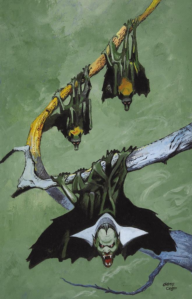 Gene Colan The Tomb of Dracula #3 (Third Series) Cover Painting Original Art (Marvel, 1991)