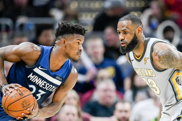 a1920989cf4 Jimmy Butler passes on the Lakers ... because LeBron is too good