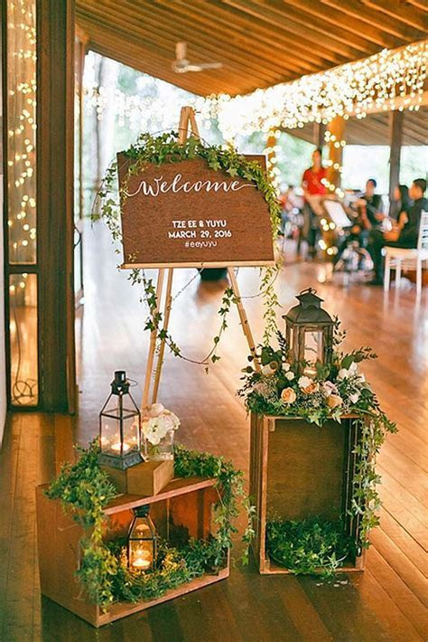 Budget Friendly Wedding Trend: 27 Greenery Wedding Decor