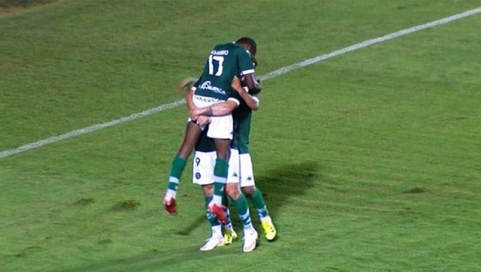 Goiás x Sport no Serra Dourada (Foto: Reprodução/Premiere)