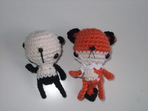 Bertositos (panda & zorro) !!♫♪