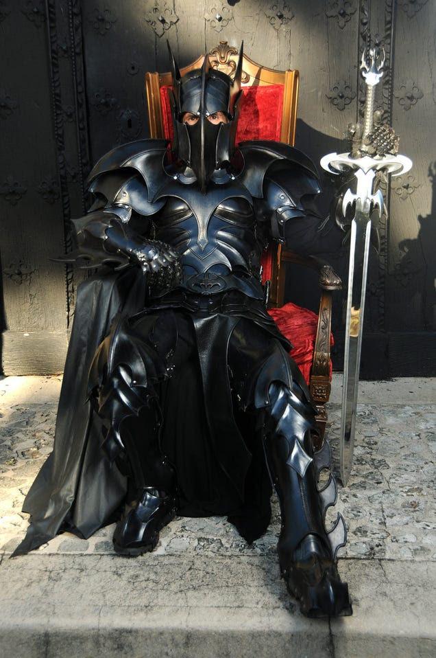 Medieval Batman armor turns you into a dark knight (literally)
