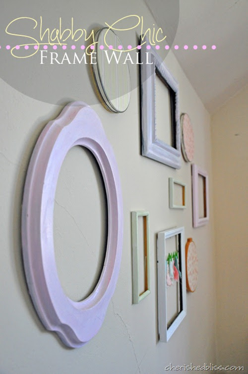 Cherished Bliss Shabby Chic - {Frame Wall}
