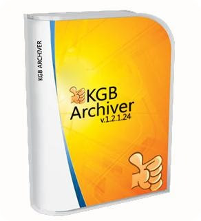 KGB ARCHIVER  (COMPRESS Your Data easily)
