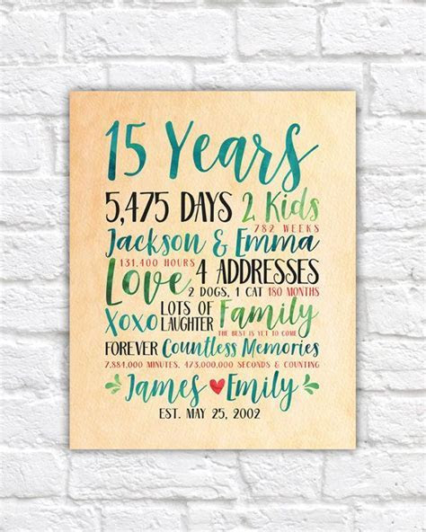 Best 25  15 years ideas on Pinterest   15 year anniversary