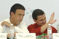Moreira y Peña Nieto.