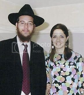 Gavriel Holtzberg, his wife Rivka