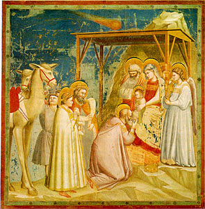 Giotto, Nativity, Arena Chapel, 1305/06