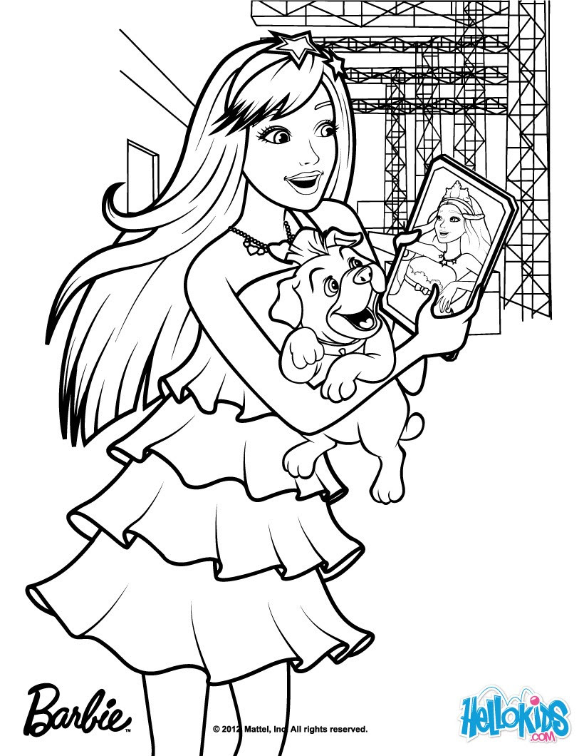 barbiepopstarcoloringpages 14 252 source