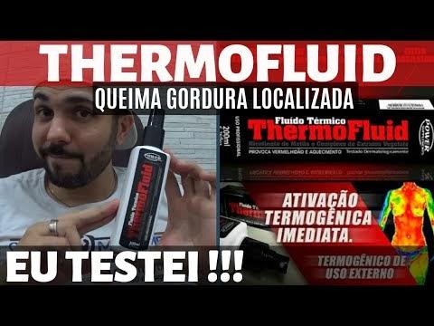 ThermoFluid - Fluido Redutor de Medidas de Aplicação na Pele para Queima de Gordura Localizada