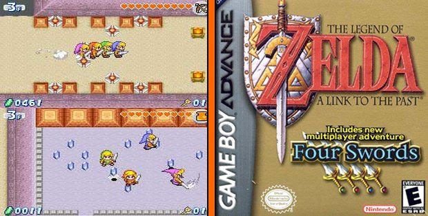 สูตร GameShark Legend Of Zelda The A Link To The Past Four Swords