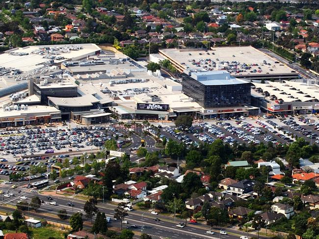 Chadstone Shopping Centre is almost impossible to get to on foot.