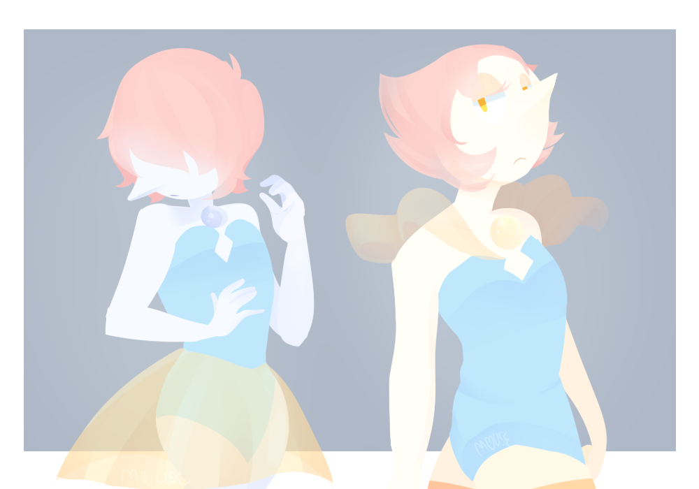I always thought that since the gems seen from Homeworld had a limited palette, Blue & Yellow Pearl would look different …