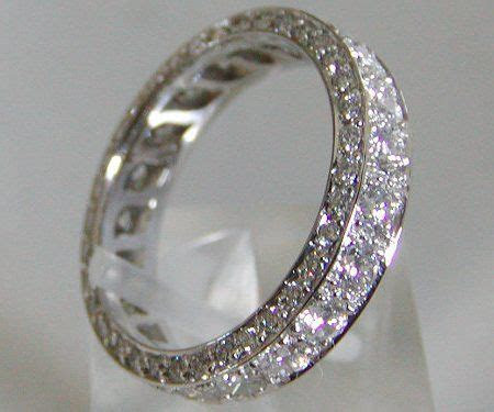 Diamond Wedding Bands For Women Eternity Bands. Love it