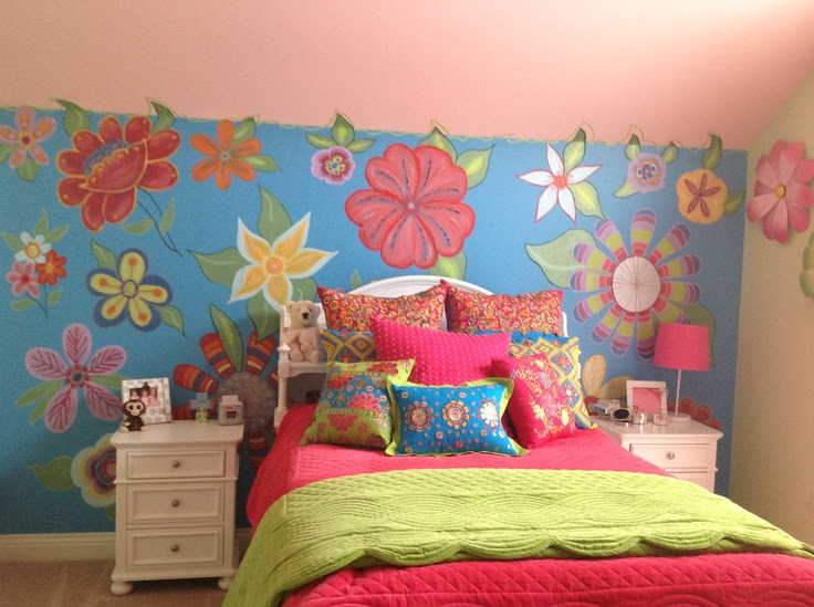Confetti Flower Room