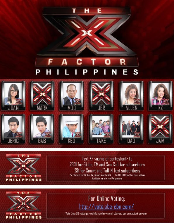 X Factor Philippines Performance Night