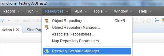 Recovery Scenario Manager - Access