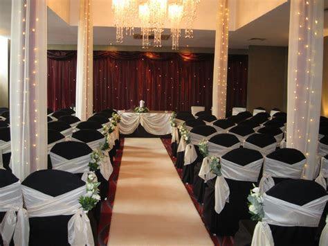 Wedding ceremony decor at Ten Square Hotel Belfast   Ten